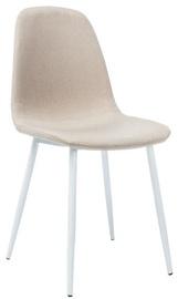 Signal Meble Chair Fox With White Legs Beige
