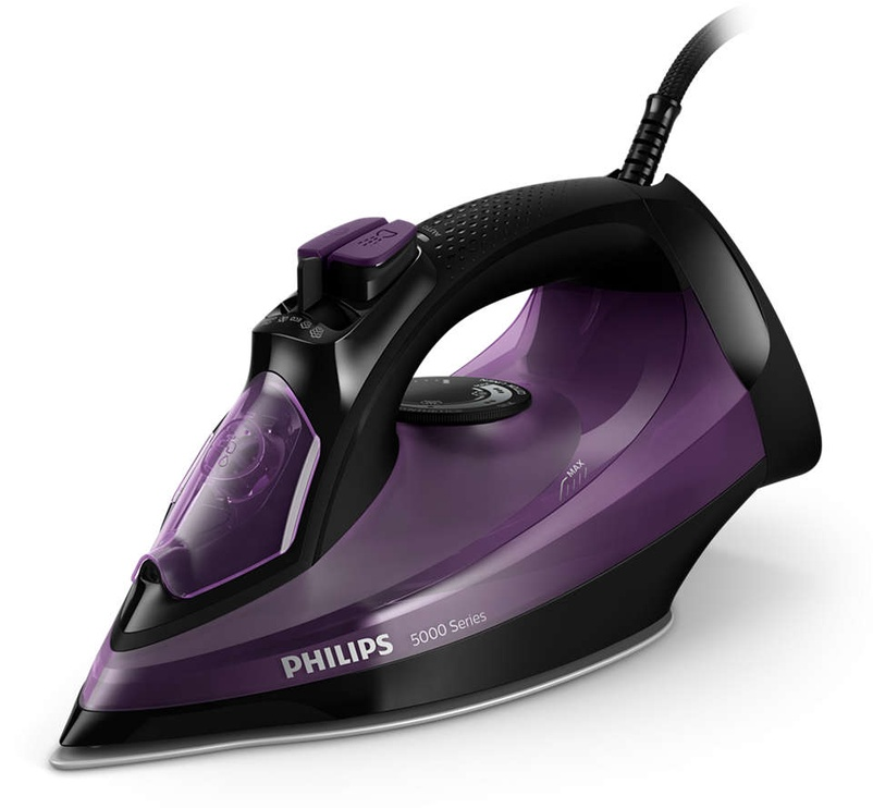 Утюг Philips DST5030/80, черный/фиолетовый