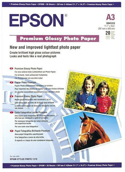 Epson C13S041315 A3 Glossy 20