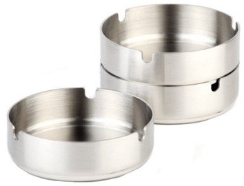 APS Stainless Steel Ashtray 10cm