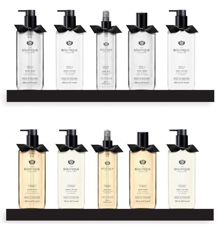 The English Bathing Company Boutique Hand Lotion 500ml Sea Breeze & Lemongrass