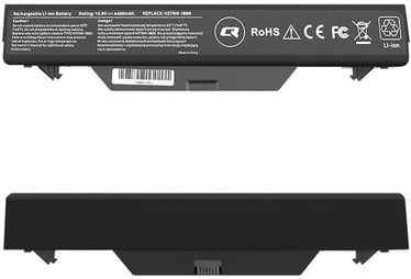 Qoltec Long Life Notebook Battery For HP ProBook 4510s 4400mAh