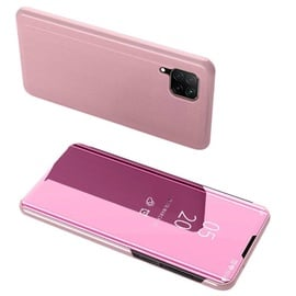 OEM Clear View Case cover for Huawei P40 Lite Pink