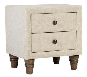 Home4you Sandra Nightstand Light Brown