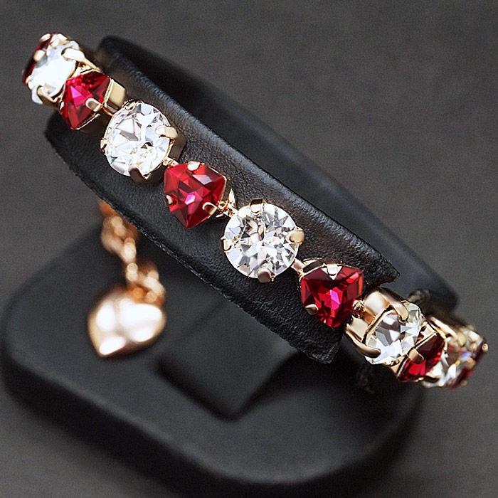 Diamond Sky Bracelet Romantic Tenderness II With Crystals From Swarovski