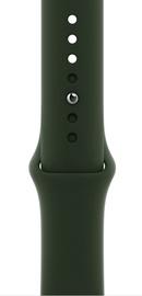 Ремешки Apple 44mm Cyprus Green Sport Band – Regular, зеленый