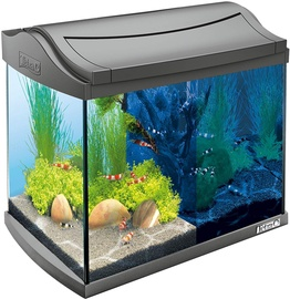 Аквариум Tetra AquaArt LED Shrimps, черный, 20 л