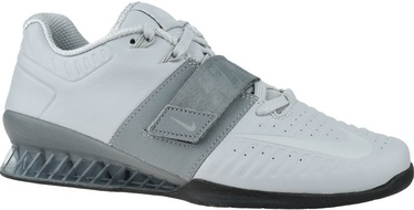 Nike Romaleos 3XD Shoes AO7987 010 White/Grey 45