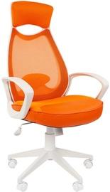 Chairman Chair 840 White TW-16 Orange