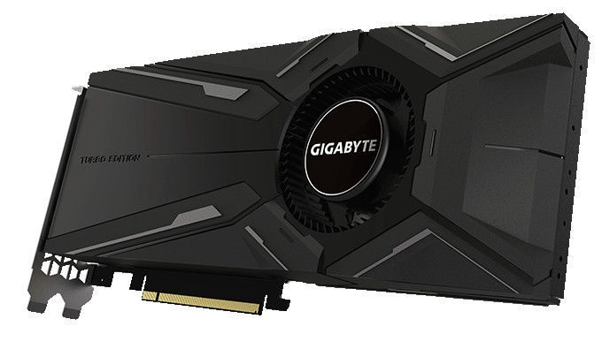 Gigabyte GeForce RTX 2080 TURBO OC 8GB GDDR6 PCIE GV-N2080TURBO OC-8GC