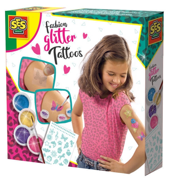 SES Creative Fashion Glitter Tattoos 14142