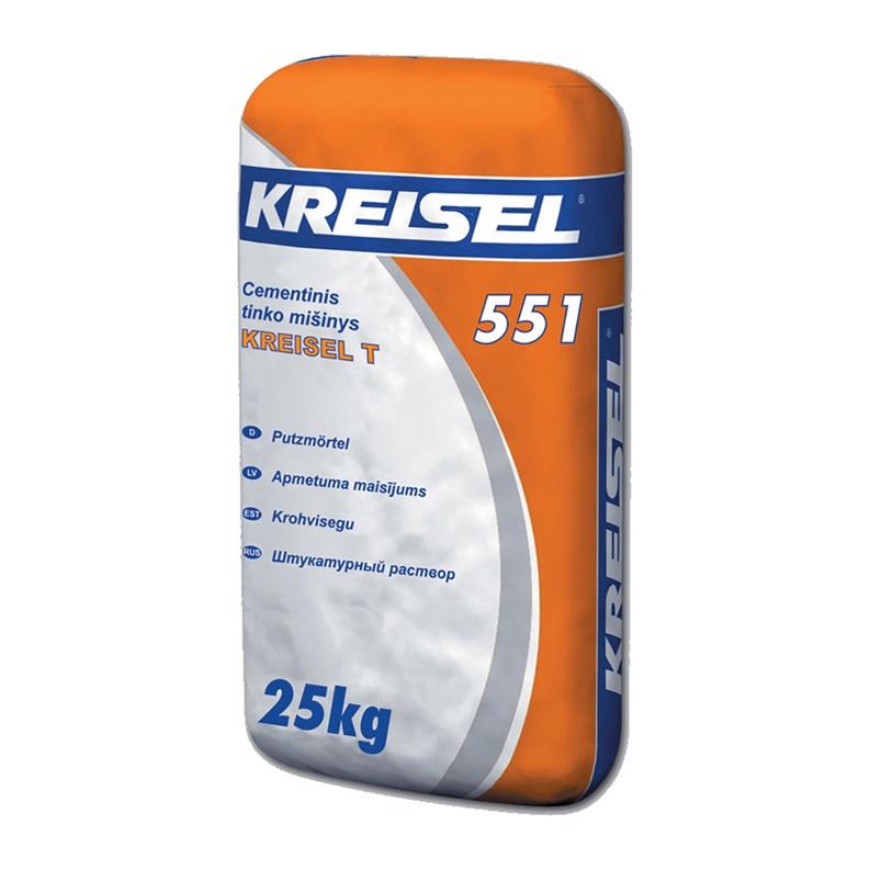 Cementinis tinko mišinys Kreisel 551, 25 kg