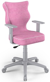 Детский стул Entelo Duo Size 6 VS08, розовый/серый, 400 мм x 1045 мм