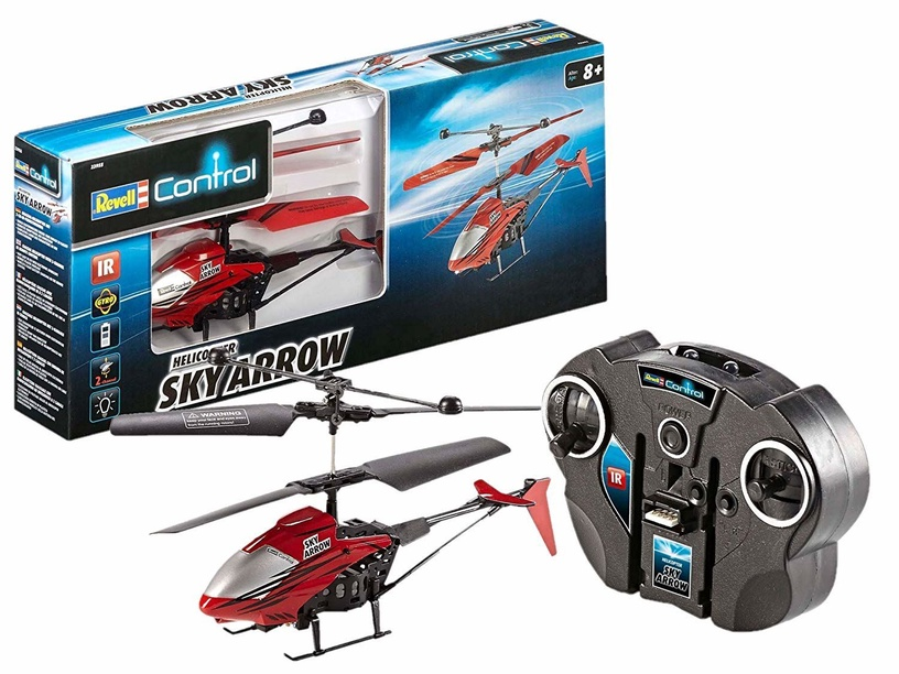 Žaislinis sraigtasparnis Revell Control Sky Arrow Red