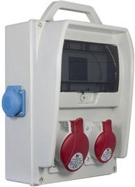 Modulinis skydas Pawbol R-BOX B.18.300-7-S, 9 modulių, 16/32A IP44