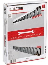 Kreator KRT500003 DBL Opened Spanner Set 12pcs