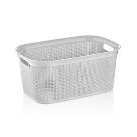 Ucsan Plastik M-080 Laundry Basket 38l Gray