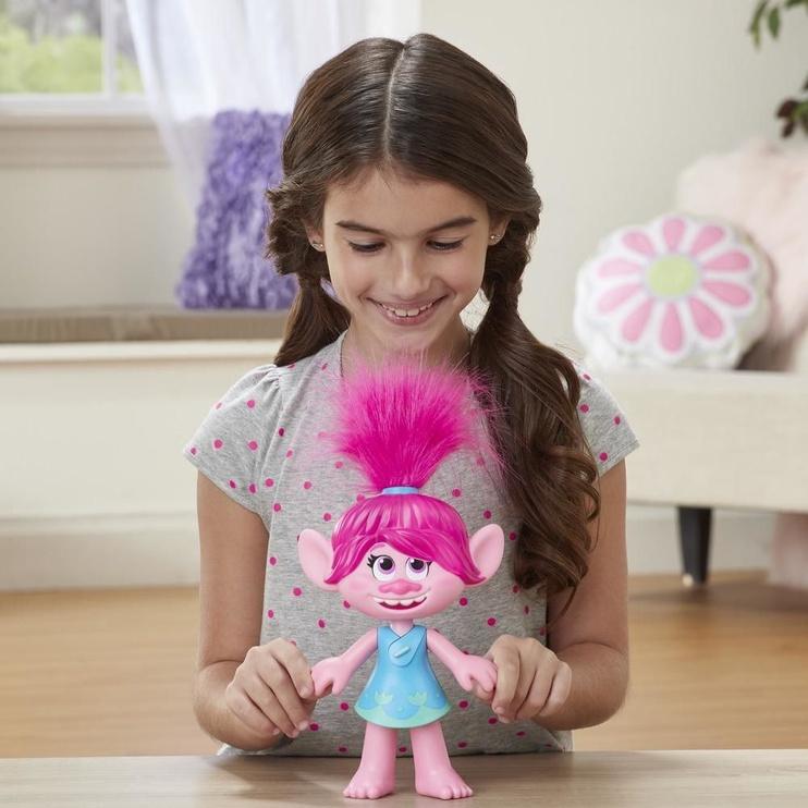 Фигурка-игрушка Hasbro DreamWorks Trolls World Tour Superstar Poppy E9412
