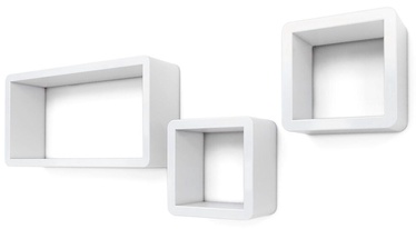 Songmics Cube Shelf White 3pcs