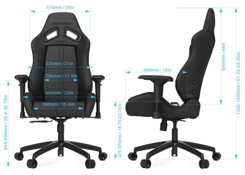 Žaidimų kėdė Vertagear SL5000 Racing Series Gaming Chair Green/Black