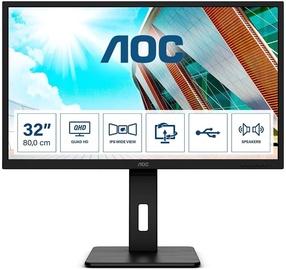 """Monitorius AOC Q32P2, 31.5"""", 4 ms"""