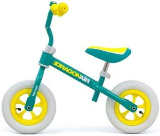 Балансирующий велосипед Milly Mally Dragon Air, синий