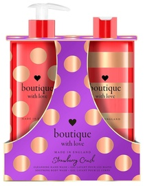 Grace Cole Kit For The Care Of Hands & Body Duo 500ml Strawberry Crush