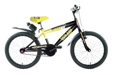 "Bērnu velosipēds Volare Sportivo, dzeltena, 20"""