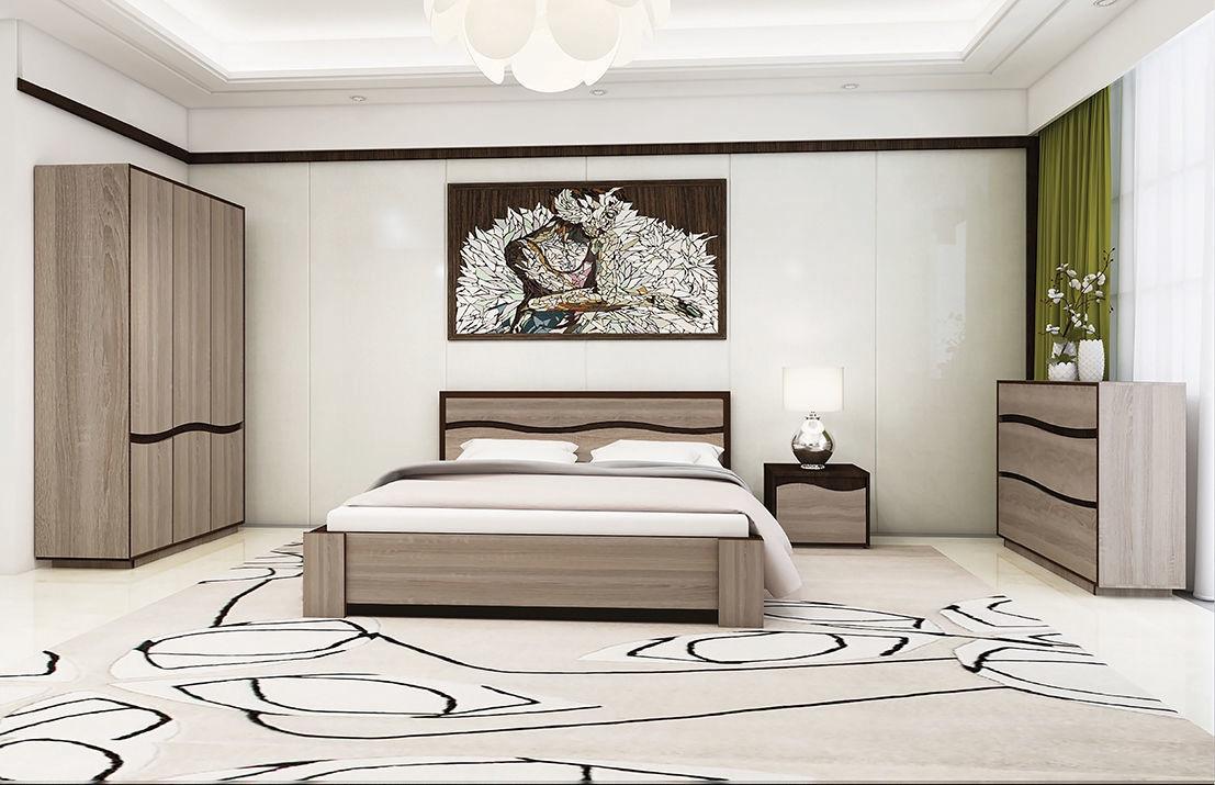 Bed 140 Cm.Cmf Group Geneva Bed 140cm Sonoma Oak