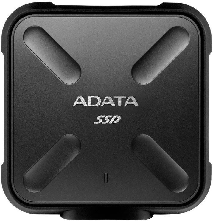 Išorinis SSD diskas Adata SD700 256GB USB 3.1 Black