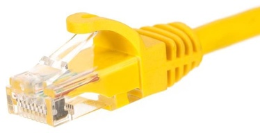 Netrack CAT 5e UTP Patch Cable Yellow 0.25m