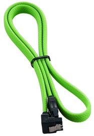 CableMod ModMesh Right Angle SATA 3 Cable 60cm Light Green