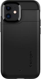 Spigen Slim Armor Cs Back Case For Apple iPhone 12 Mini Black