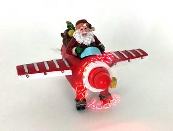 Niveda Eke Santa Claus Decoration LED Hologram