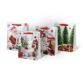 Kalėdinis dovanų maišelis, 18 x 8 x 24 cm