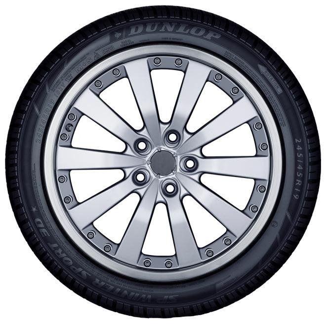 Žieminė automobilio padanga Dunlop SP Winter Sport 3D, 255/35 R19 96 V XL