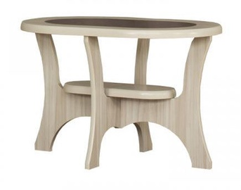 Kafijas galdiņš Bodzio S02, smilškrāsas, 900x600x590 mm