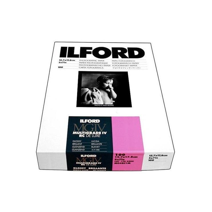 Ilord Multigrade IV Photographic Paper 1M Glossy 12.7x17.8cm 100pcs