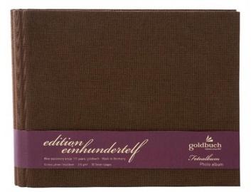 Альбом для фотографий Goldbuch Edition 1111 Brown 22x16/36