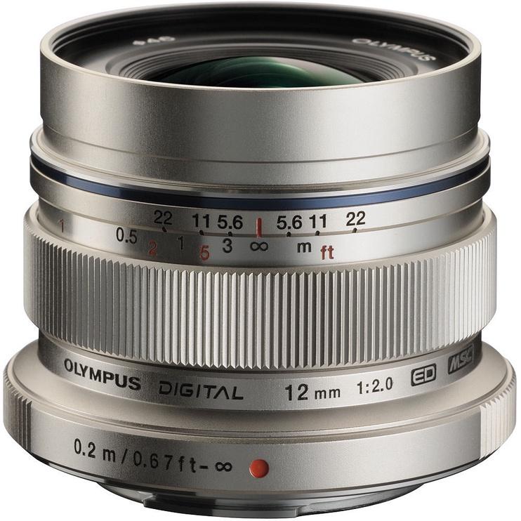 Olympus 12mm F2 M.Zuiko Digital ED Silver
