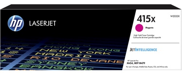 HP 415X LaserJet Toner Magenta W2033X