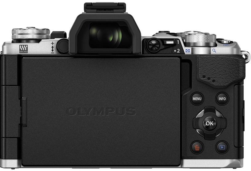 Olympus OM-D E-M5 Mark II Silver + M.Zuiko Digital ED 14-42mm f/3.5-5.6 EZ Black