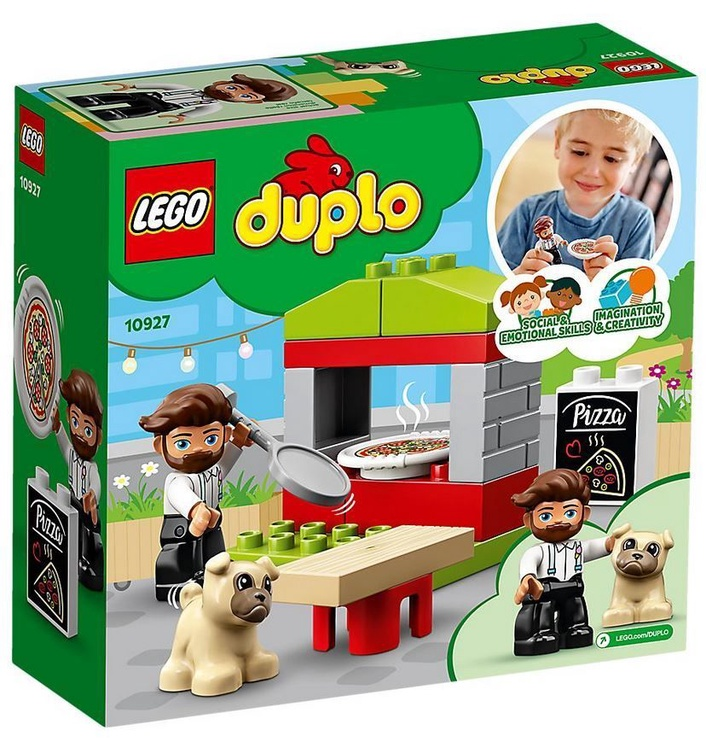 Конструктор LEGO Duplo Pizza Stand 10927 10927, 18 шт.