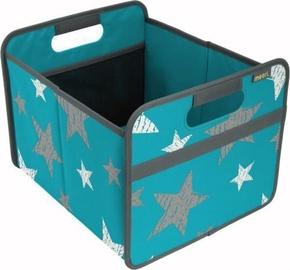 Meori Foldable Box Classic M Azure Blue/Vintage Stars