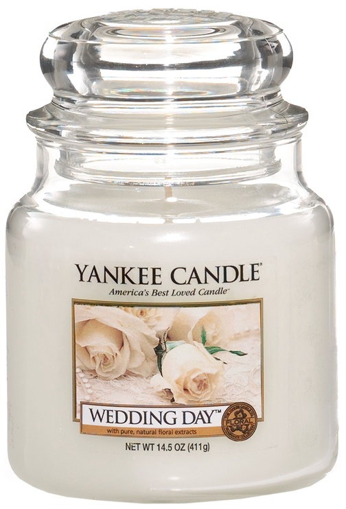 Yankee Candle Classic Medium Jar Wedding Day 411g