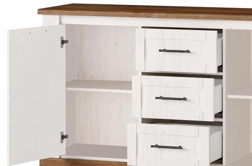 Szynaka Meble Chest Of Drawers Country 45 White