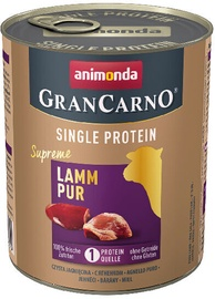 Animonda GranCarno Single Protein Lamb 800gr