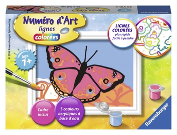 Ravensburger Painting By Numbers Butterfly 295104