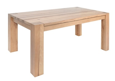 Black Red White Verde Table 180x100cm Natural Beech