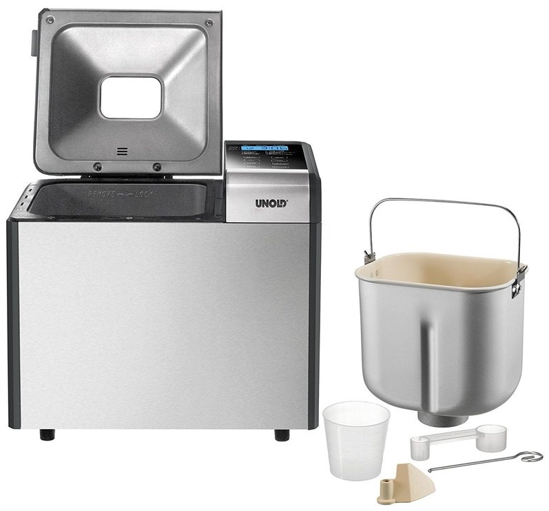 Unold Top Edition Bread Maker 68415 Stainless Steel